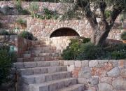 Escalier extérieur en pierre Monaco